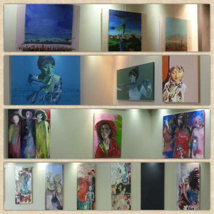 some of the paintings